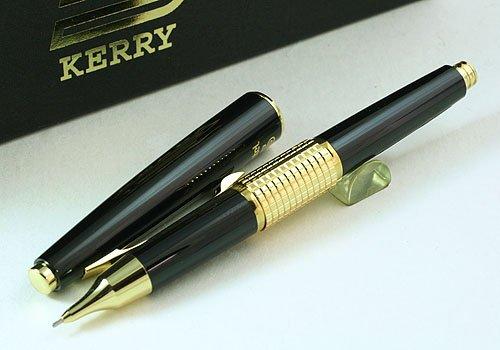 Pentel Sharp Kerry Automatic Pencil 0.5mm (Black/Gold) by Pentel (Image #3)