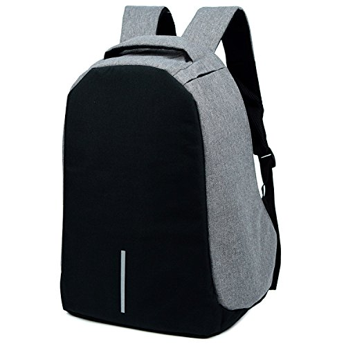 SYKT Anti-theft Backpack Busniess Laptop Backpack(Grey) new ...