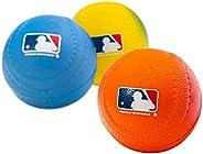 Franklin Sports Team MLB 3Pack Foam Baseballs-Gradient