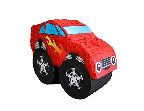 MUSCLE CAR PINATA - RED (Car Racing Pinata)