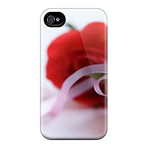 RoccoAnderson Xet28094qZSG Protective Cases For Iphone 6(red Roses On White Background)
