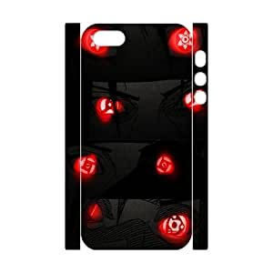 iPhone 5,5S Case, iPhone 5,5S Cover -Naruto_ Uchiha Itachi Custom Hard Mobile Phone Shell Protector for iPhone 5,5S