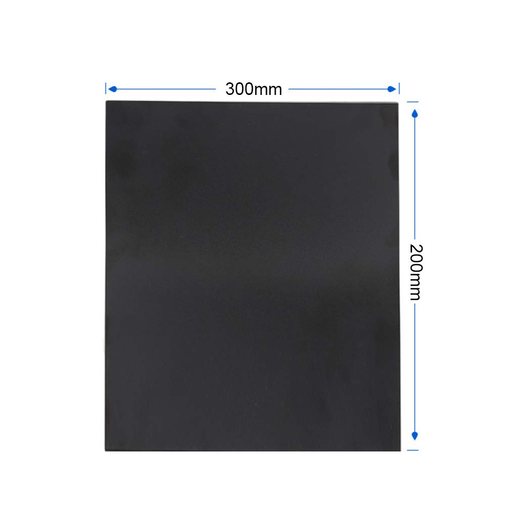 HEFUTE Upgrade Flexible Magnetic 3D Print Bed Build Surface Plate A+B Heated Bed Parts 214 x 214mm Compatiable with 3D Printer Cr-10 Ender 3 and so on A+B