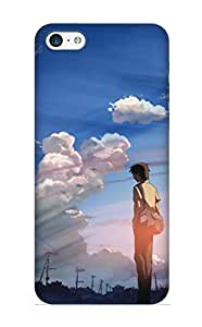 Appearance Snap-on Case Designed For Iphone 5c- Anime 5 Centimeters Per Second(best Gifts For Lovers)
