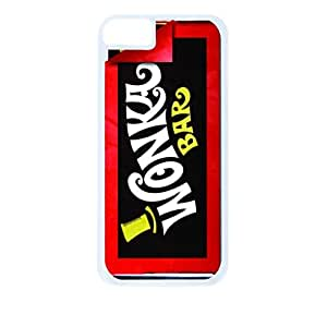 Wonka Bar - Hard White Plastic Snap - On Case-Apple Iphone 6 Plus Only - Great Quality!