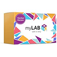 myLAB Box STD at Home Test for Women Genital Herpes CLIA Lab Certified Results (Not Available in NY)