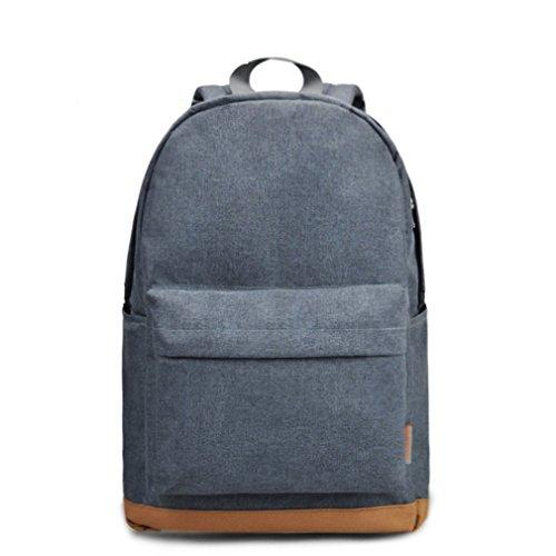 kaoling Men's 15 pulgadas Laptop Backpack Computer Male School Mochilas Mochilas Ocio Para Adolescentes Viajes Mujeres Shoulder Light Gray