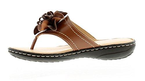 Hush Puppies New Ladies/Womens Tan Adra Grace Toe Post Sandals - Tan - UK Sizes 3-8 tijftL81lb