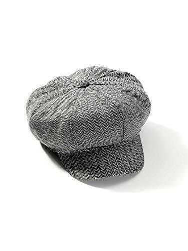 - Forum Novelties 73205 Roaring 20S-Newsboy Hat, Standard, Gray, Pack of 1