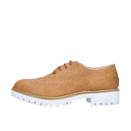 OLGA RUBINI AF121 B Cuero Sintético Marrón Zapatos 35 Mujer Elegantes EU n1dnqwxB