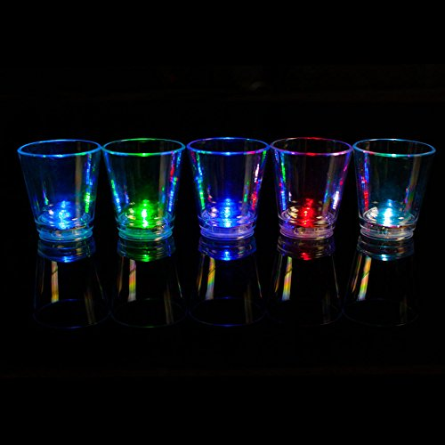 Fun Central AU061 LED 2oz Shot Glass -