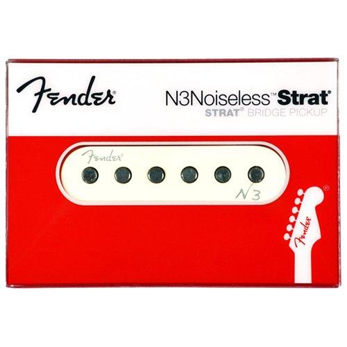Noiseless Stratocaster Pickups (Fender Single N3 Noiseless Strat Bridge Pickup)