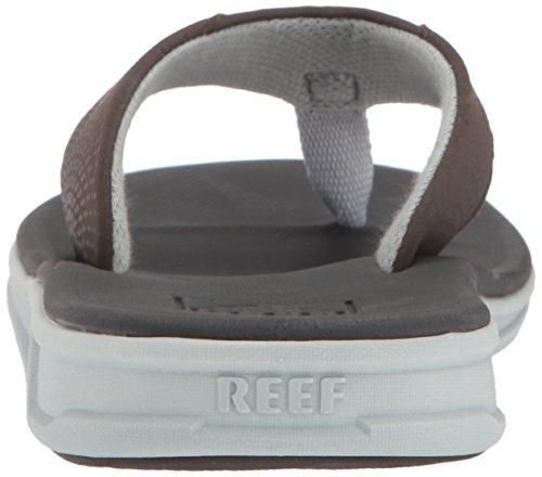 Reef Rover Sandalias Para Hombre | Sandalias Deportivas Deportivas Para Hombres Gris Oscuro / Marrón