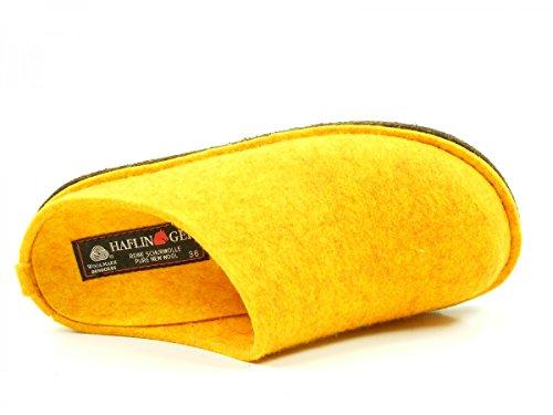 Soft Chaussons Flair Haflinger Mixte Gelb Adulte Mules qPAC0wxC