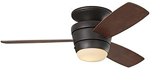 Harbor Breeze Mazon 44-Inch Bronze Flush Mount Indoor Ceiling Fan