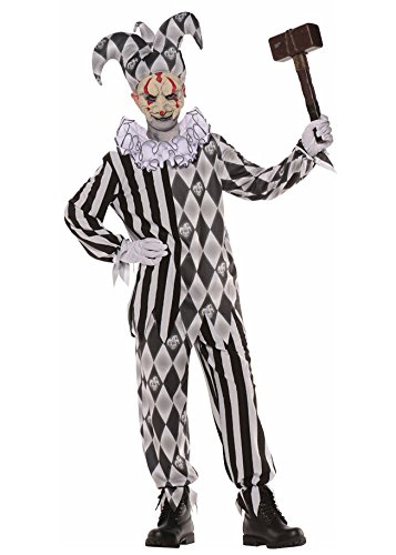 Evil Harlequin Child Costume - Medium - Harlequin Costumes For Sale