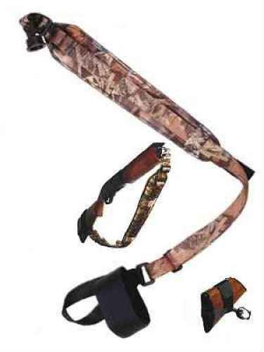 Interstate Arms Corp Outdoor Connection Total Shotgun Padded Sling with Remington 12-Gauge Mag Cap, Mossy Oak Break Up