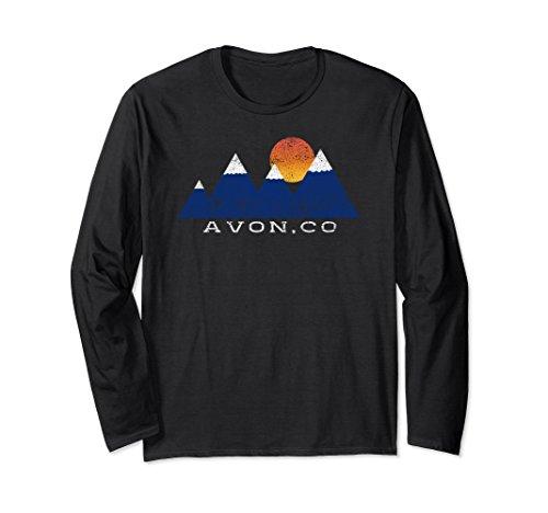untain Sunset Long Sleeve T Shirt XL: Black (Avon T-shirt T-shirts)