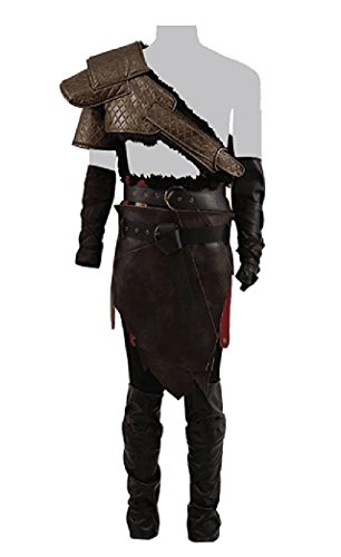 Xiao Maomi Mens Cosplay Armor Suits Mars Battle Costumes Halloween (M, Father)