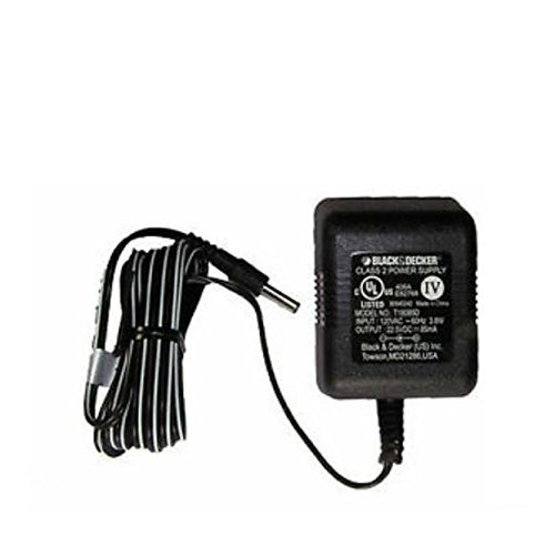 Black & Decker T18085D Class 2 Power Supply 22.5V - 18V Battery Charger Thin Pin Style