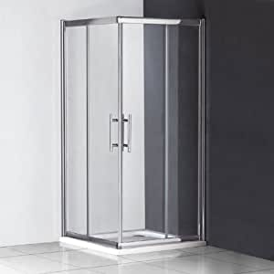 760 x 760 x 1850 mm de alto con puerta corredera de entrada en ...