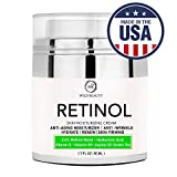 NEW 2018 Retinol Moisturizer Cream for Face and Eye Area with Hyaluronic Acid