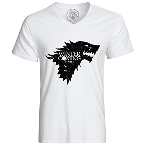 T-Shirt Game Of Thrones Haus Stark Winter Is Coming Wolf
