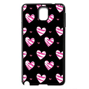 For Samsung Galaxy NOTE3 Case Cover Love Pink Pattern Protective Back Case-Style-2