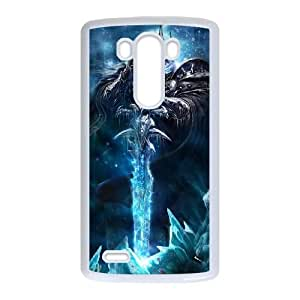The Lich King LG G3 Cell Phone Case White Delicate gift AVS_575359