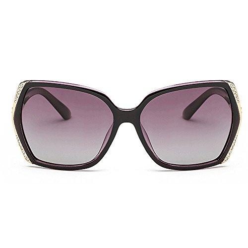 Square polarisés Luxurious lunettes la les de nuances lunettes designer femmes Lady's pour pour UV lunettes nouveauté la de conduit soleil protection de diamants soleil soleil Diamonds Rimmed lunettes tqP1Yn
