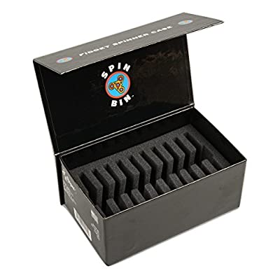 Regal Games Spin Bin Fidget Spinner Case - Made in The USA: Toys & Games