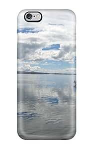Sophia Cappelli's Shop 2470812K16885532 Iphone Case - Tpu Case Protective For Iphone 6 Plus- Titicaca Lake