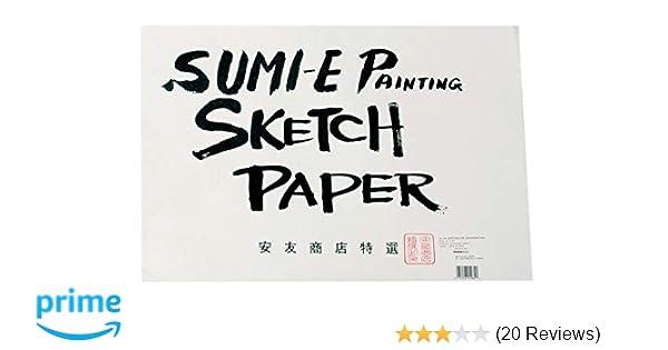 6H SUMI SKETCH PAD 9X12 YASUTOMO /& CO