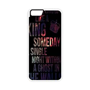 IPhone 6 Case, King for a Day by Pierce the Veil Case for IPhone 6 {White}