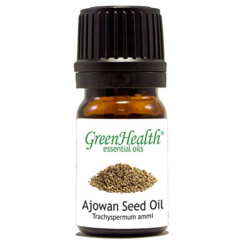 5 ml Ajowan Seed Essential Oil (100% Pure & Uncut) - GreenHealth