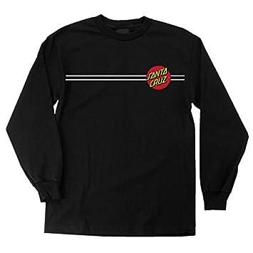 Amazon.com: NHS Santa Cruz Classic Dot Men's Long Sleeve T-Shirts ...