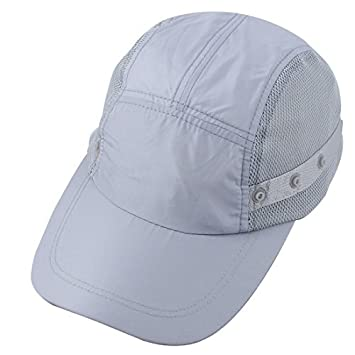 28af855c15754 DealMux Fisherman Outdoor Sports Adjustable Strap Neck Sun Protective  Demountable Summer Cap Fishing Hat  Amazon.co.uk  Sports   Outdoors