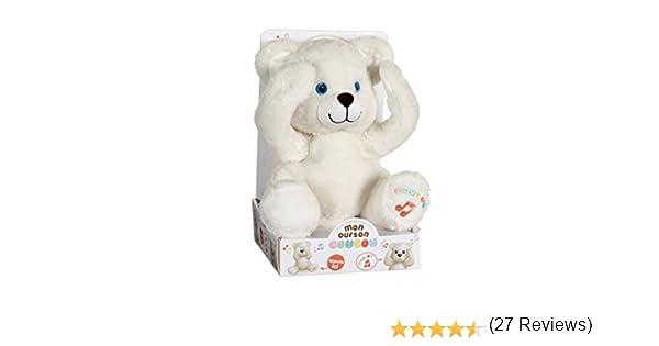 GIPSY 70572 – Función de peluche, – Oso Cuco todo suave – 25 cm: Amazon.es: Bebé
