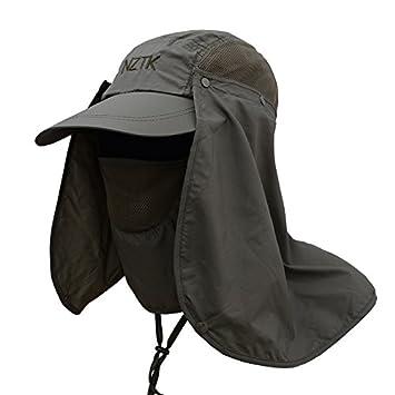GossipBoy Gorro deportivo para exterior multifuncional y mujer cobertura  total contra el sol (FPS 50 633413b4e67