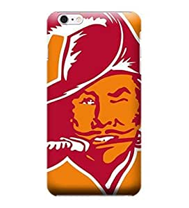 iPhone 6 Cases, NFL - Tampa Bay Buccaneers Retro Logo - iPhone 6 Cases - High Quality PC Case