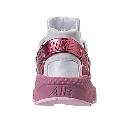 Nike Wmns Luft Huarache Køre Dame Aq7889-100 Hvid / Elementært Pink-arktisk Lyserød 8TsRj6O6D