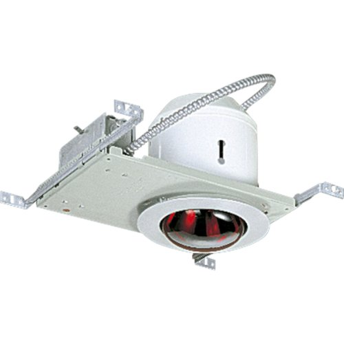 Progress Lighting P6952-16TG Heater Light Complete with Housing, Trim and 26-Inch Adjustable Bar Hangers, Satin Aluminum