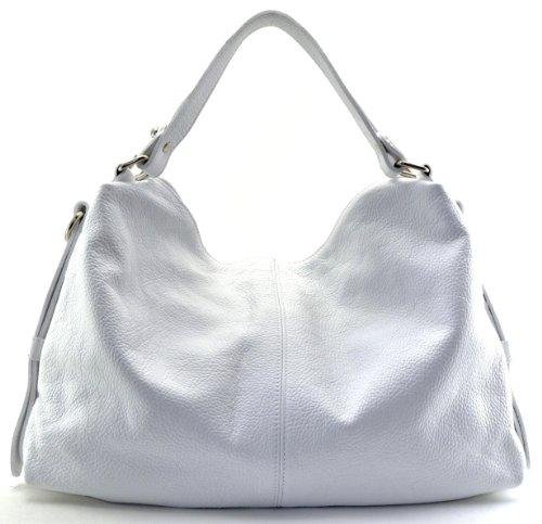 CUIR à nouvelle cuir 2018 collection sac modèle porté DESTOCK main grainé main beyonce Blanc bandoulière et waafx