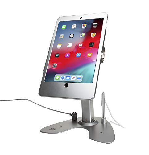 CTA Digital PAD-ASKT Dual Security Kiosk Stand with Locking Case and Cable for iPad Air 3 (2019) and iPad Pro 10.5