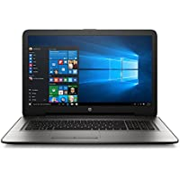 HP 17.3-Inch FHD (1920 x 1080) IPS Premium Laptop, 7th Intel Core i7-7500U, 16GB DDR4 RAM, 2TB HDD, AMD R7 M440 Graphics 4GB, DVD, HDMI, Bluetooth, Backlit Keyboard, Windows 10-Silver