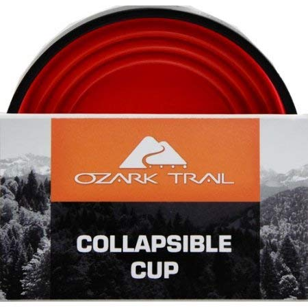 Ozark トレイル 軽量 折りたたみ式 ハイキングカップ (2個パック)   B072F9VWT8