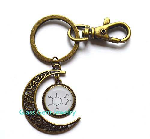 Monogram & Name Moon Keychains girlfriend birthday gift bar Moon Keychain bar Moon Keychain for her airplane flight attendant pilot fight school christmas fly away wanderlust.XY50 (Pilot Name Tag)