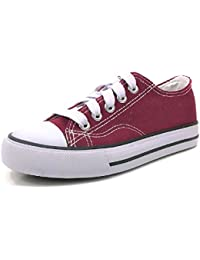 Kid's Athletic Canvas High Top Sneaker Tennis Shoes
