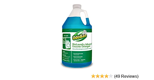 Amazon.com: OdoBan 968262-G BioLaundry Advanced Enzyme Detergent, 1 ...