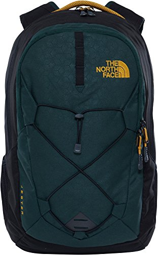 The North Face Unisex Jester Backpack Darkest Spruce Emboss/Darkest Spruce